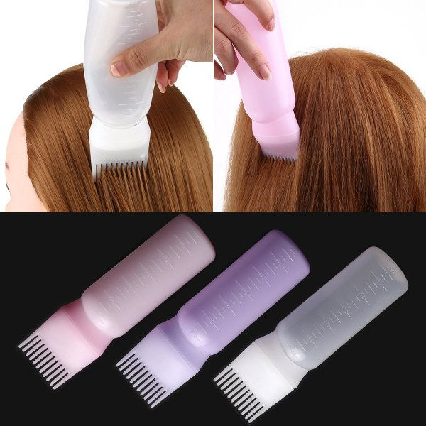 Bình chứa thuốc uốn ép cho salon tóc barber shop