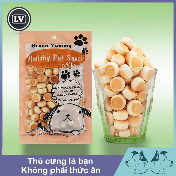 Bánh thưởng cho chó - bánh quy tròn và bánh gấu cho chó 100g