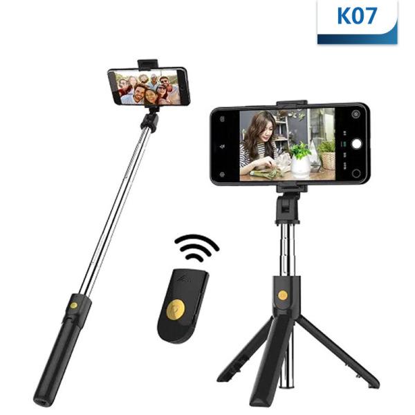 Gậy chụp hình bluetooth kiêm giá đỡ điện thoại 3 trong 1 hapotech chụp hình từ xa,3 chân chắc chắn,kết nối bluetooth tương thích với mọi loại điện thoại iphone,samsung,oppo,xiaomi,huawei,vsmart