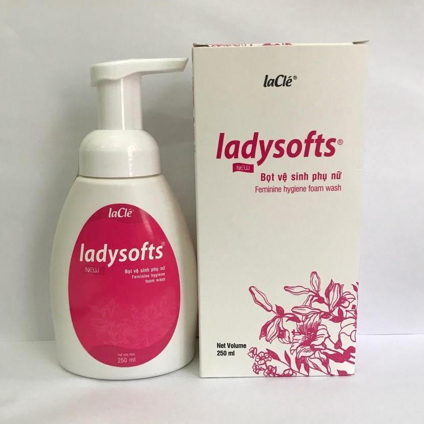Bọt Vệ Sinh Phụ Nữ Ladysofts 250ml nhập khẩu