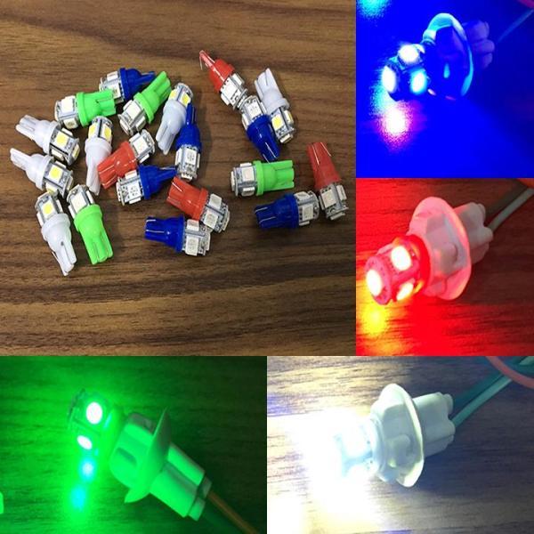 Đèn xi nhan demi chân T10 có thể lắp thay bóng sương mù phù hợp với mọi dòng xe (giá 1 đôi)