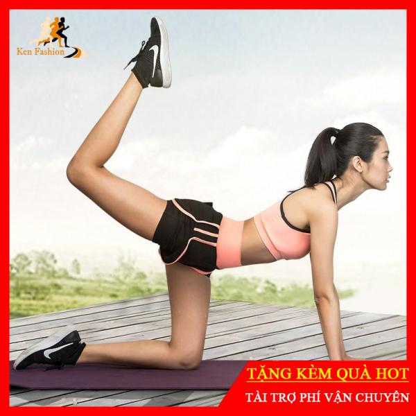 Bộ Tập Gym, Yoga, Thể Dục Nữ Hàng Cao Cấp - Set Quần Đùi + Áo Bra [Ken-10]