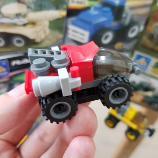 Đồ chơi trẻ em xếp hình LEGO CITY lắp ráp các loại xe ô tô từ 27 đến 32 chi tiết nhựa ABS cao cấp cho bé từ 4 tuổi trở lên phát triển trí tuệ và sáng tạo - Giới hạn 5 sản phẩm khách hàng 4