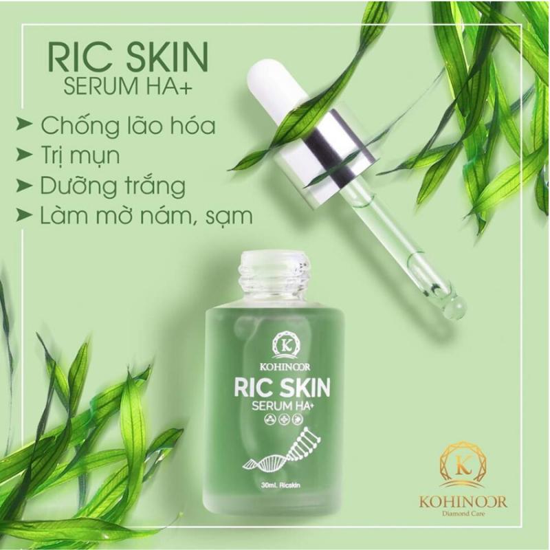 Ric skin serum HA+ Kohinoor RS-SR, mờ thâm sạm nám, chăm sóc da khỏe đẹp giá rẻ