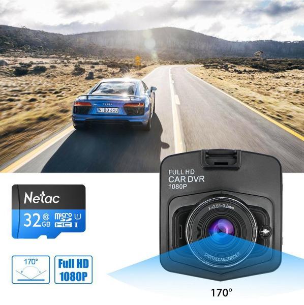 Camera Hành Trình Xe Hơi HD Car DVR 1080p X001 + Thẻ Nhớ 32GB