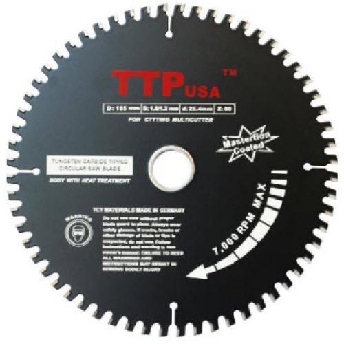 Lưỡi Cắt Nhôm , Gỗ, Sắt Đa Năng TTP usa 185mm 60 răng made in germany