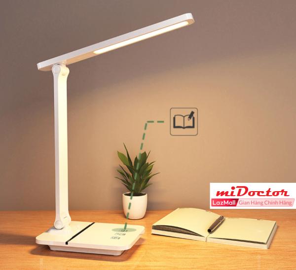 Bảng giá Đèn Để Bàn Học LED USB Di Động Cao Cấp Có Thể Gập Hai Chỗ – 03 Chế Độ Ánh Sáng Vàng Bảo Vệ Mắt Chống Cận - Hàng Chính Hãng miDoctor
