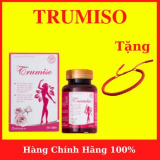 TRUMISO - Tăng Vòng 1- Hỗ trợ tăng cường nội tiết tố nữ, hỗ trợ cải thiện các biểu hiện do suy giảm nội tiết tố nữ- tặng vòng tay chỉ đỏ may mắn- AN001 thumbnail