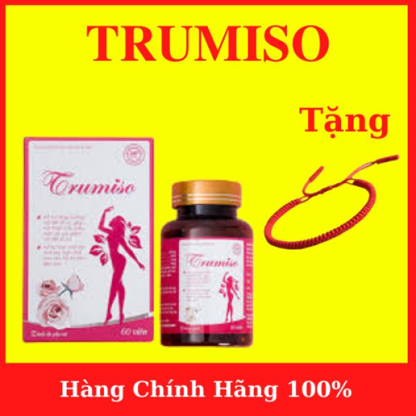 TRUMISO - Tăng Vòng 1- Hỗ trợ tăng cường nội tiết tố nữ, hỗ trợ cải thiện các biểu hiện do suy giảm nội tiết tố nữ- tặng vòng tay chỉ đỏ may mắn- AN001 giá rẻ