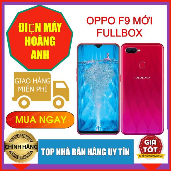 XẢ LỖ Điện thoại  OPPO F9 Pro 128GB/6Gb 2 Sim- Siêu phẩm màn hình Giọt nước CHIẾN PUBG, FREE FIRE, LIÊN QUÂN MƯỢT MÀ
