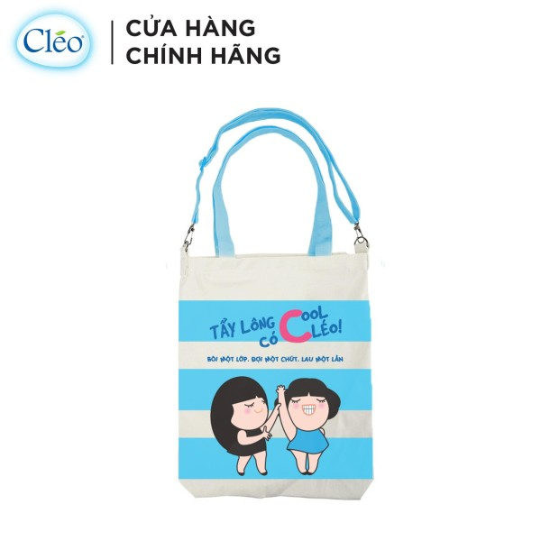 [HB Gift - Quà Tặng Không Bán] Túi Tote Xách Tay Cléo - Tẩy Lông Cool có Cléo nhập khẩu