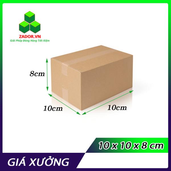 ComBo 10 Hộp Carton Size 10x10x8 - Thùng Carton Zador