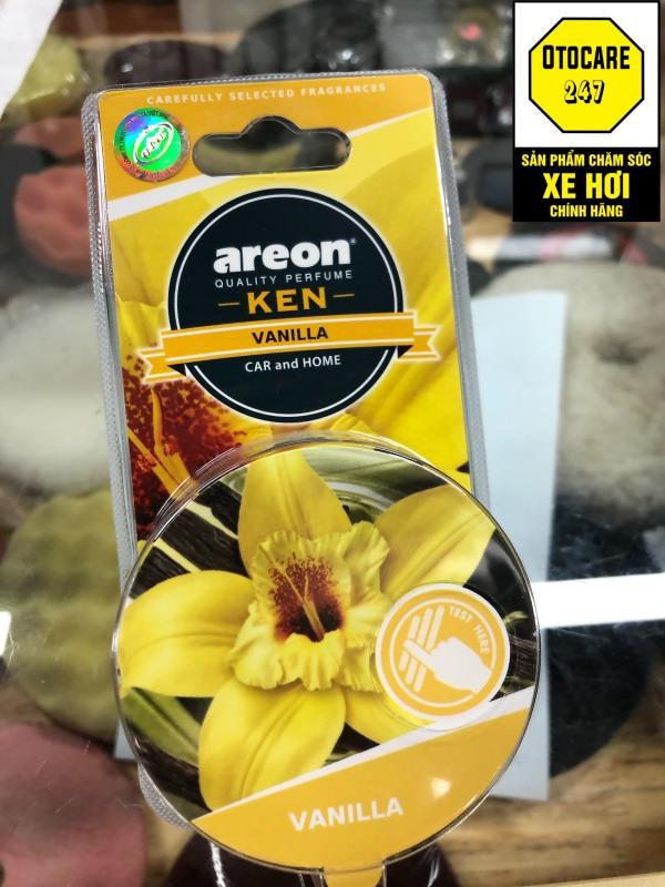 Sáp thơm ô tô AREON hương VANI – Areon Ken Vanilla