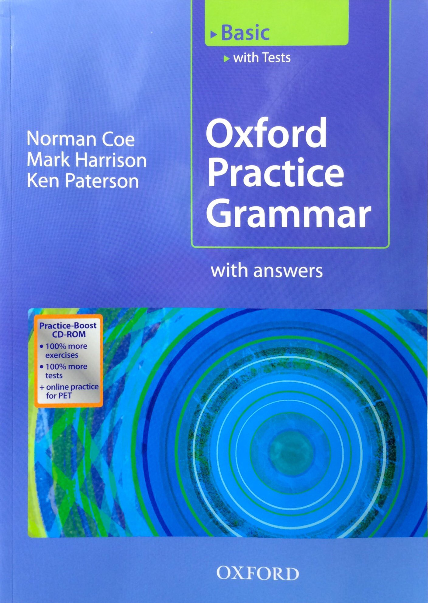 Fahasa - Oxford Practice Grammar Basic Practice-Boost CD-ROM Pack With Key