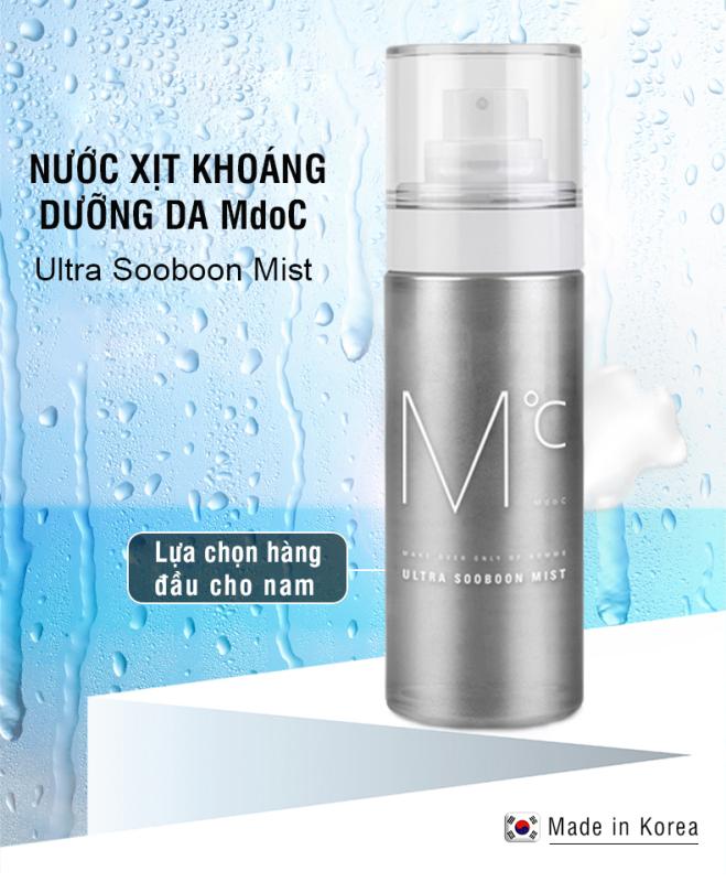 Xịt Khoáng Làm Mát Da MdoC Ultra Sooboon Mist 80ml