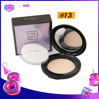 Phấn Nén Kiềm Dầu The Rucy Three in One Whitening Two Way Cake LKshop thumbnail