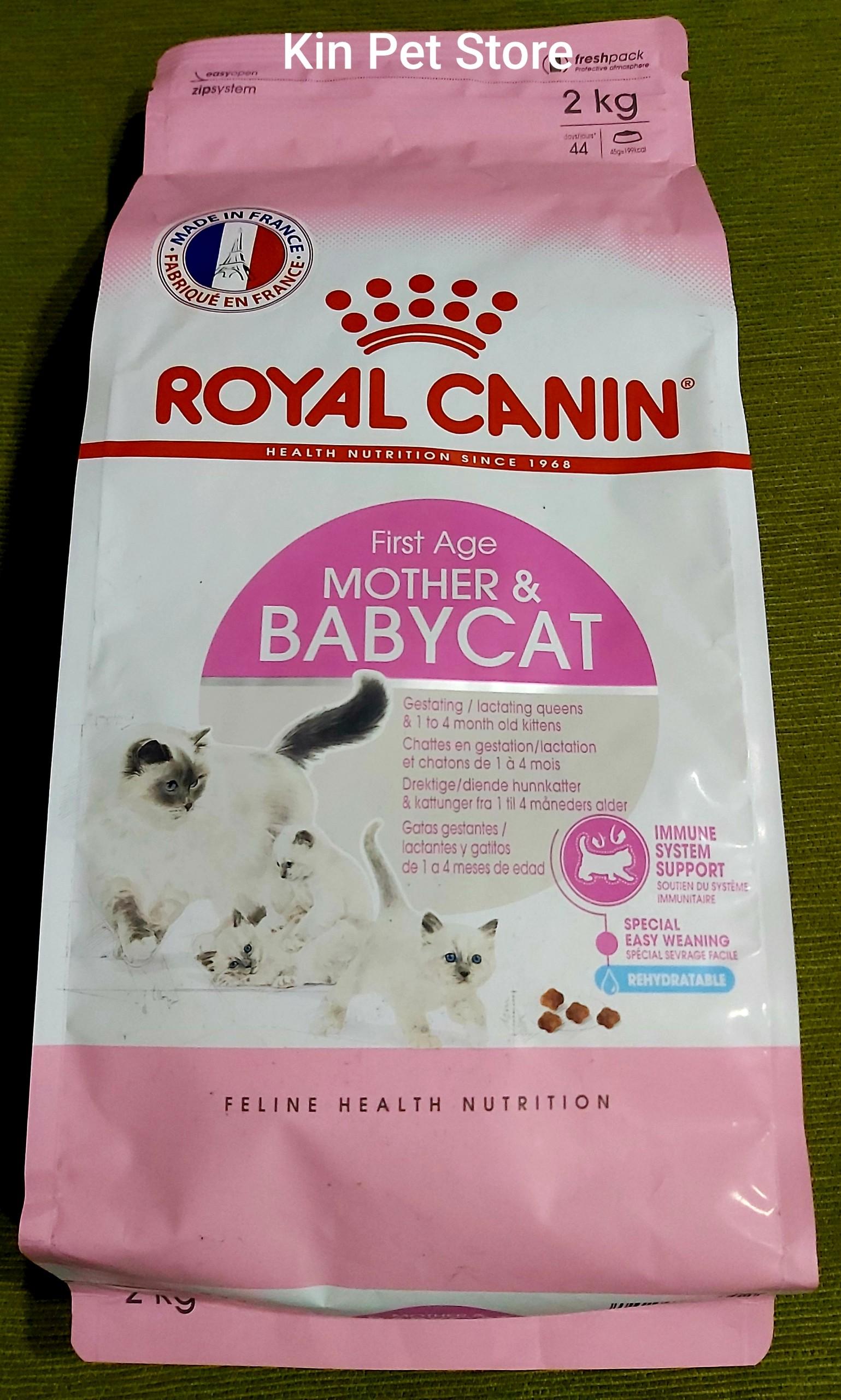 Thức ăn Cho Mèo Mẹ Và Mèo Con ROYAL CANIN MORTHER & BABYCAT 2kg Cùng Giá Khuyến Mãi Hot