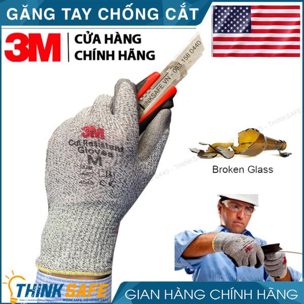 Găng tay chống cắt 3M cấp độ 5 độ khéo léo cao, chuyên dụng cho cơ khí kỹ thuật chống cắt khi làm với tôn sắt thủy tinh - Bảo hộ Thinksafe