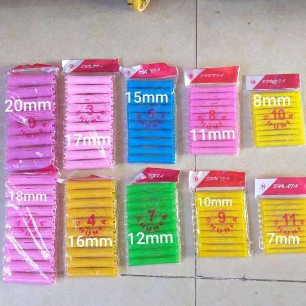 Bộ 10 xương uốn lạnh DP size từ 7mm đến 20mm