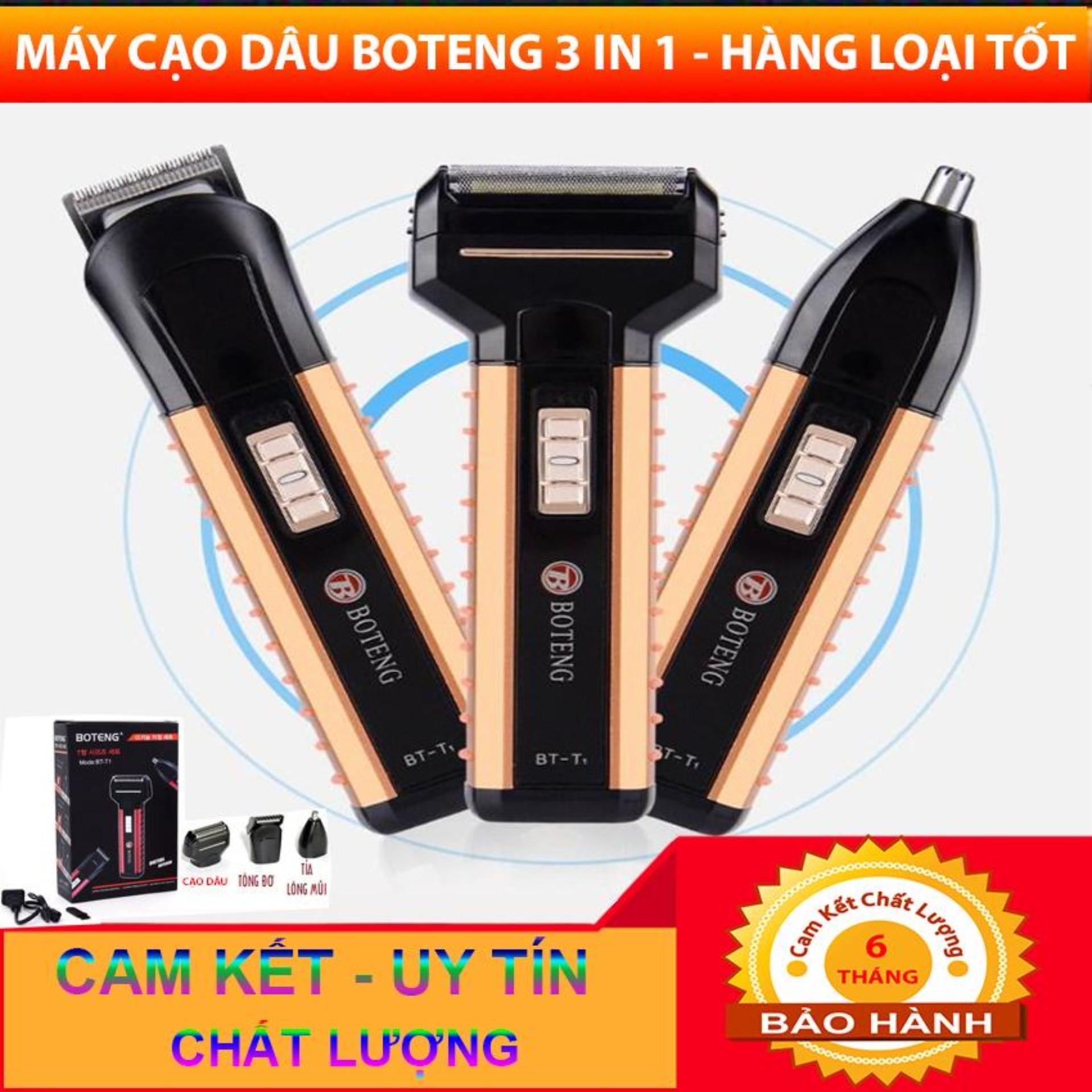 Bảng giá Máy cạo râu đa năng Boteng tích hợp 3 chức năng tiện dụng Điện máy Pico