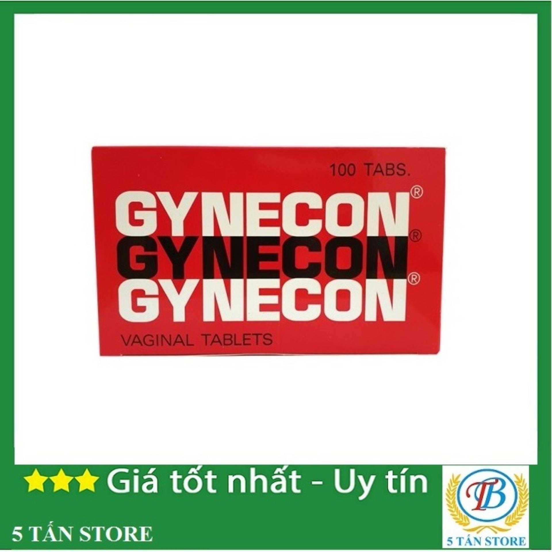 Viên đặt phụ khoa Gynecon ( vỉ 10 viên liệu trình 10 ngày) tốt nhất