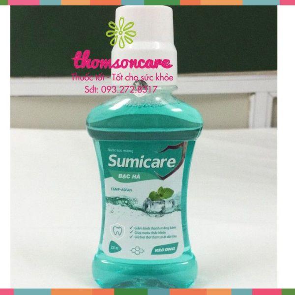 Nước súc miệng Sumicare - Bạc Hà - Chai 250ml giá rẻ