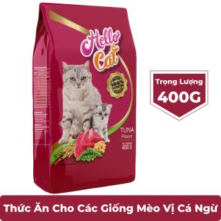 Hạt khô cho mèo HELLO CAT vị Cá ngừ - Thức ăn cho mèo thumbnail