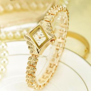 Đồng hồ nữ mẫu HOT JW dây kết chuỗi lá cách điệu đính đá cao cấp J25 thumbnail
