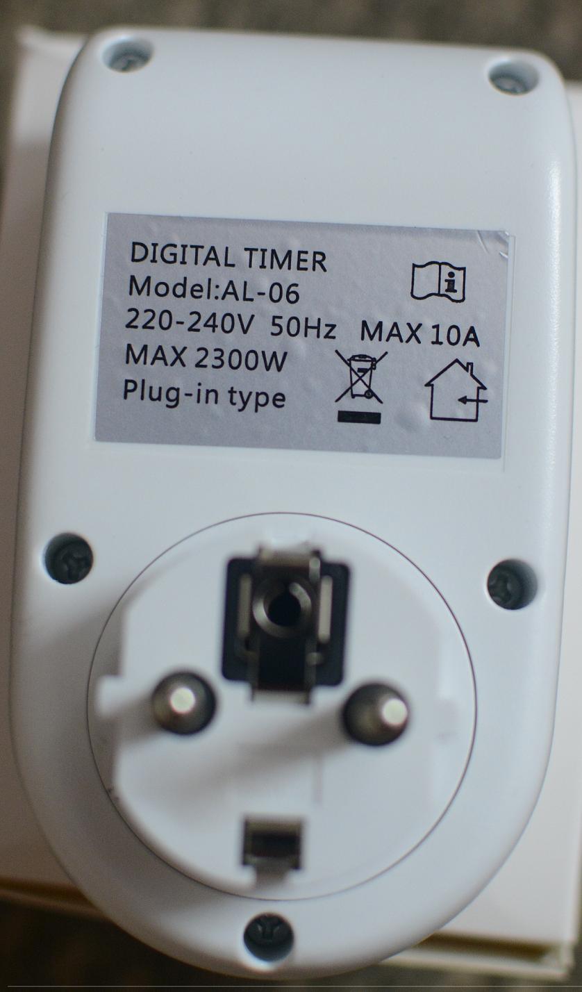 Timer hẹn giờ ổ cắm điện thông minh ổ cắm đa năng tiết kiệm điện hẹn giờ  bạt tắt 16 lần /1 ngày AL06