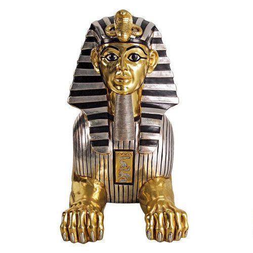 Mua Tượng nhân Sư Ai Cập mạ Vàng