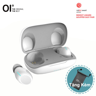 Mới oi Tai Nghe Không Dây Chân Thực, Tai Nghe Thể Thao Âm Thanh Nổi Hi-Fi Khử Tiếng Ồn Ghép Nối 6H & Sạc Nhanh OlymBuds Bluetooth 5.0 -- Đen Trắng thumbnail