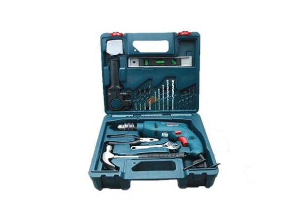 Máy khoan động lực Bosch GSB 550 (bộ set valy 19 món phụ kiện)