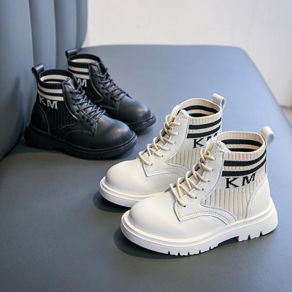Giá bán Giày trẻ em boot da cho bé trai và bé gái hàng cao cấp siêu đẹp siêu êm thiết kế cổ chun độc lạ