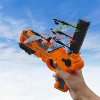 Đồ chơi sung phóng máy bay cho trẻ em , đồ chơi máy bắn máy bay lượn mô hình trẻ em Dũng Dũng 1 thumbnail