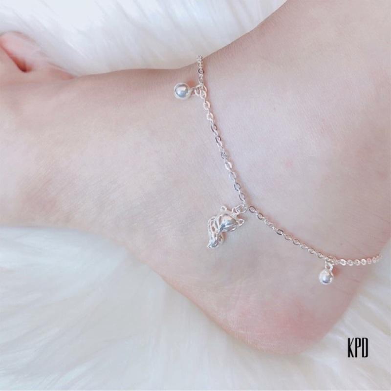 Lắc chân nữ bạc Italy cao cấp 925 không phai màu, chất lượng đảm bảo an toàn đến sức khỏe người sử dụng, cam kết hàng đúng mô tả