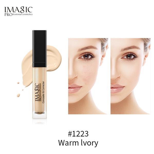 Kem che khuyết điểm dạng lỏng không thấm nước thích hợp cho mọi màu da mắt/mặt có 6 màu để lựa chọn - INTL