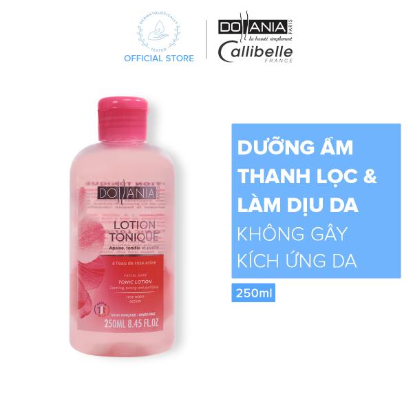 [Từ 26.12-03.01 x Quà cho đơn 149k] Nước hoa hồng dành cho da nhạy cảm Dollania se khít lỗ chân lông thanh lọc và làm dịu da 250ml - Giới hạn 1 sản phẩm/khách hàng cao cấp