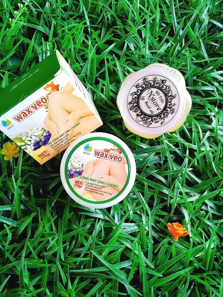 Com bo Wax Veo - Mỡ trăn  - Triệt lông nhập khẩu