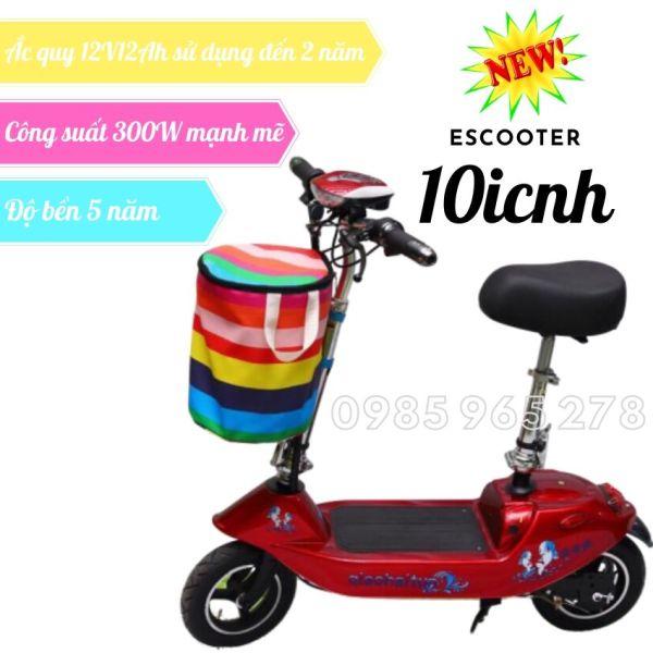 Phân phối Xe đạp điện mini, xe điện mini gấp gọn, xe điện scooter, xe đạp điện cho học sinh, chạy được 20-30km