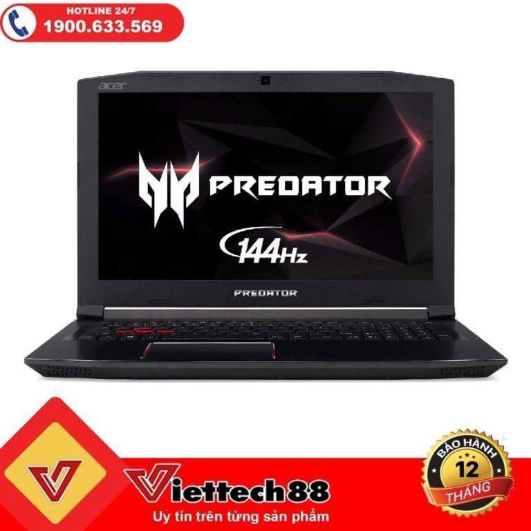 "Deal tại Lazada cho Laptop Acer Predator PH315-51 Core I7 8750H/ Ram 16Gb/ SSD 256Gb/ GTX 1060 6Gb/ Màn 15.6"" FHD"