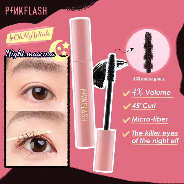 Focallure PINKFLASH Day & Night Natural Lengthening and Volume Waterproof Mascara giá rẻ