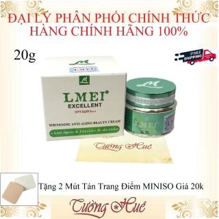 Kem Dưỡng Ngừa Đốm Nâu, Tàn Nhang Lmei Excellent SPF50 PA++ Anti-Spots & Freckles Reduction ( Tặng 2 Mút Tán trang Điểm ) thumbnail