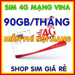 Sim 4G Vina gói 3GB ngày (90GB tháng) + Miễn phí gọi nội mạng Vinaphone - Giống như sim 4G Vinaphone VD89P (VD89 Plus) - Shop Sim Giá Rẻ thumbnail