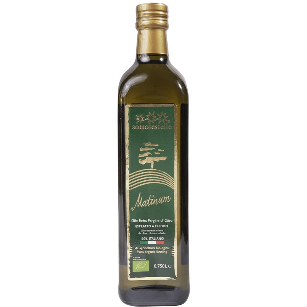 Dầu olive nguyên chất ép lạnh hữu cơ Sottolestelle 750ml