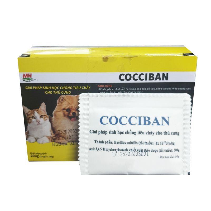Men cho chó mèo hết ngay tiêu chảy Men trị tiêu chảy Cocci Ban 10g