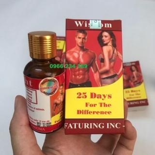 Viên Uống Hỗ Trợ Tăng Cân Và Cơ Bắp Wisdom Weight (Hộp 25 Viên) thumbnail