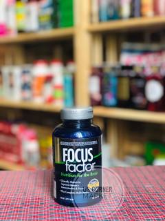 [DATE 2024] Viên Uống Focus Factor 180 viên Tăng Cường Chức Năng Não, Giảm Stress Nutrition for the Brain thumbnail