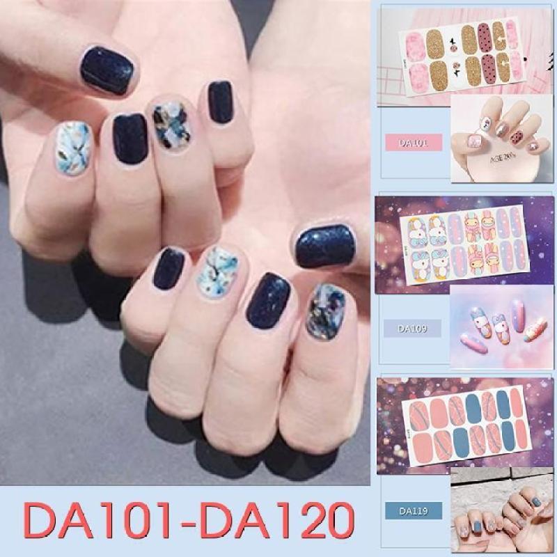 Sticker dán trang trí móng tay họa tiết dễ thương mã DA101 - DA120