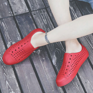 Giày nhựa đi mưa GU2 chất liệu cao su siêu bền nhẹ nhiều lỗ thoáng