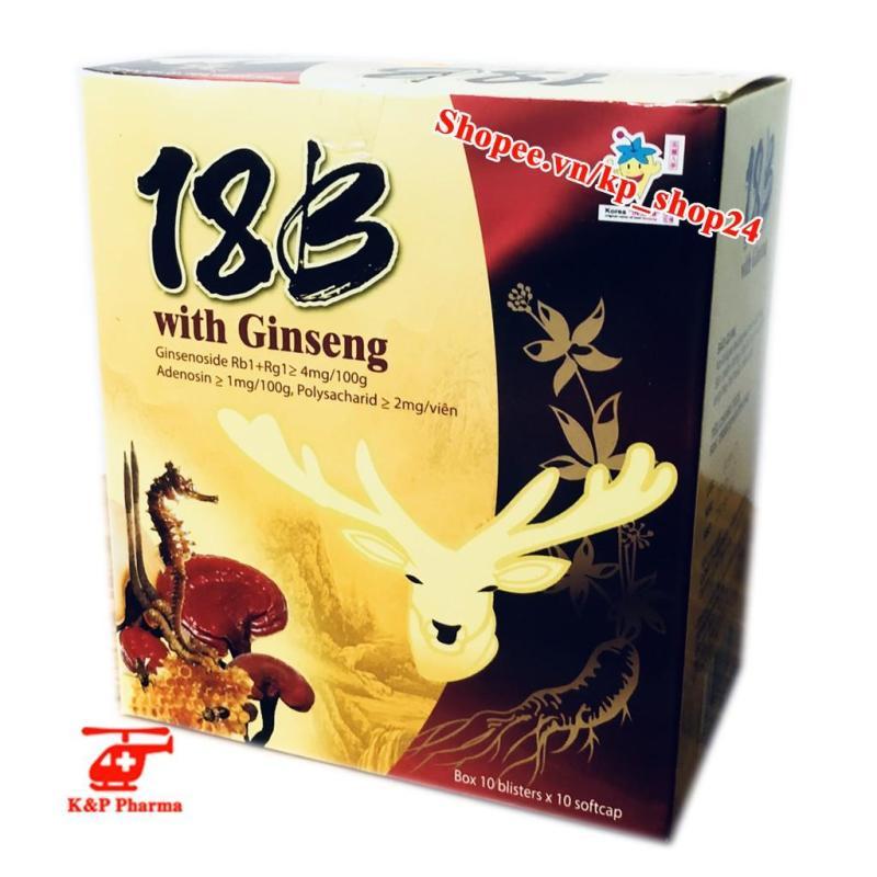 Vitamin 18B with Ginseng cao cấp